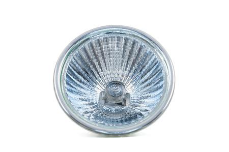 halogen: Halogen lamp isolated on white background