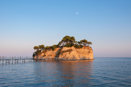 cameo: Cameo Island at sunset - the most popular Zante wedding locations in the Greek islands