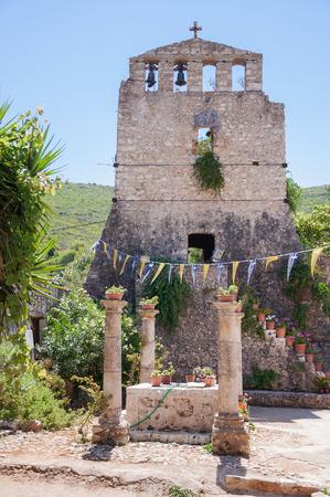 zakynthos: Tower of Anafonitria Monastery on Zakynthos Island, Greece