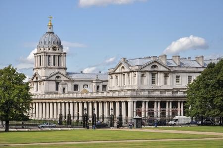 greenwich: Building of Greenwich University in London, United Kingdom