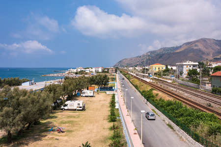 province: View of Campora San Giovanni town in Calabria, Italy Editorial