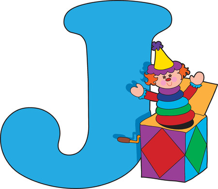 jack in the box: Alphabet Letter