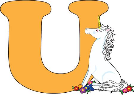 Letter van het alfabet Stock Illustratie
