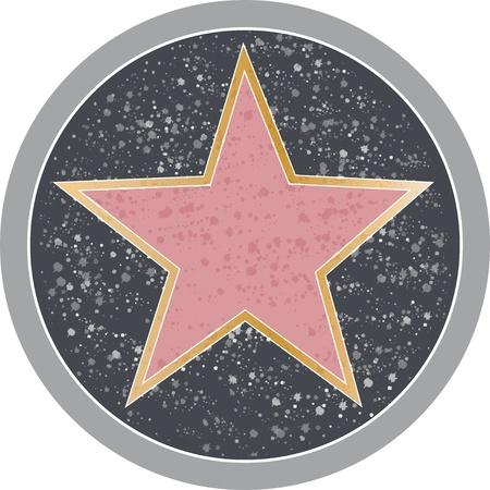 Erinnert an ein Hollywood-Star B�rgersteig.
