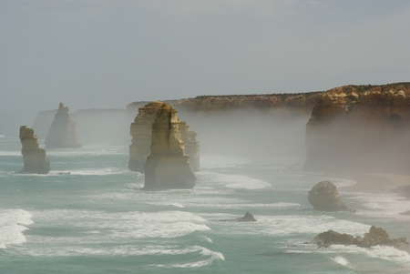 Twelve Apostles at the Great Ocean Road in Australia Stock Photo - 11127139