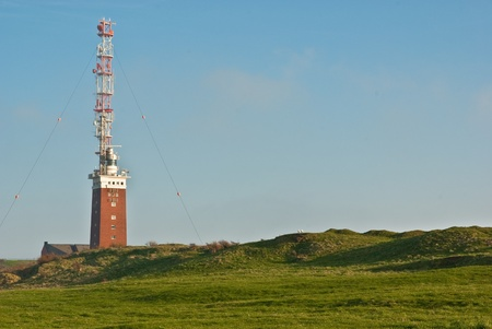 helgoland: coastline of german island Helgoland Stock Photo