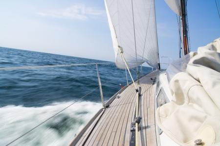 green boat: luxury sailing yacht