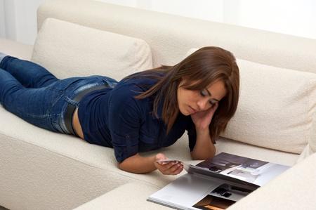 women reading a book Stock Photo - 13233820