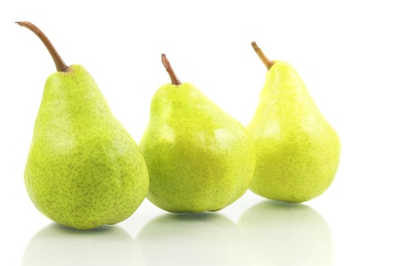 williams: Pear On White Background