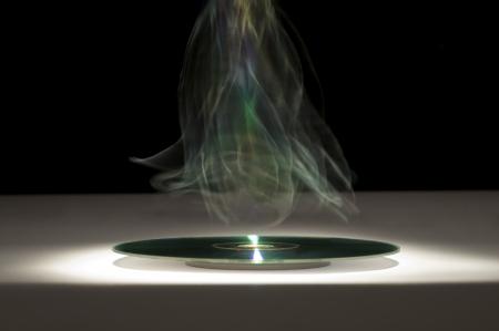 Glowing CD