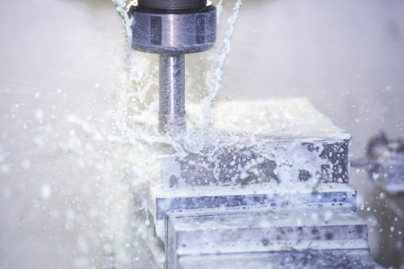 mechanical: Machine van het Malen Stockfoto
