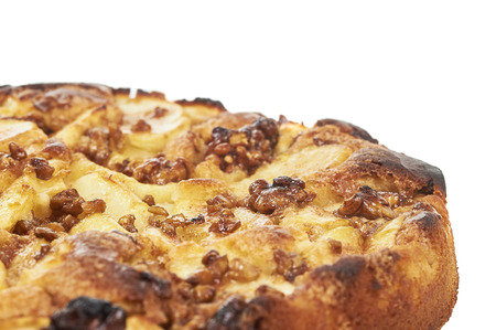 Apple Pie With Walnut