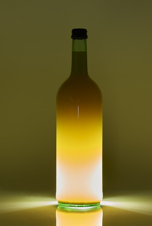 Bottle With Backlight Standard-Bild