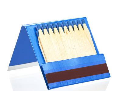 Book Of Matches Stock Photo