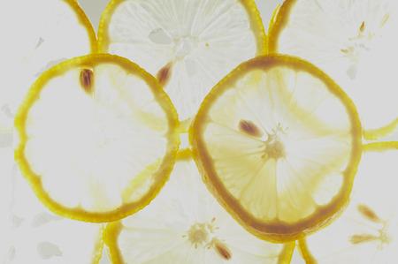 Sliced ??Lemon With Back-light