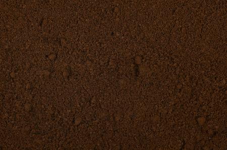 Grained Coffee Standard-Bild