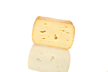 Delicious Cheese Over White