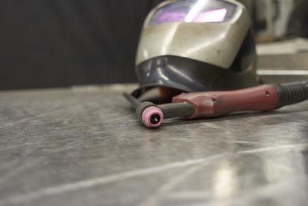 Welder Equipment Tig Torch And Shield