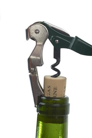 Corkscrew To Open A Bottle Wine