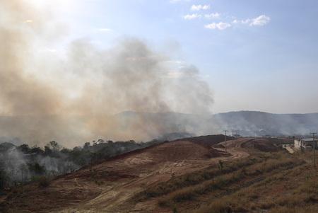 Burning Forest in Brazil