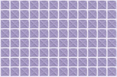 arhitecture: Purple seamless vintage color floor tile texture background Stock Photo