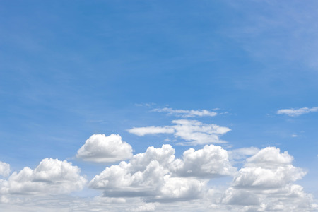 sky with clouds: blue sky clouds on blue sky background