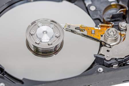 hdd: Close up Harddrive HDD soft focus