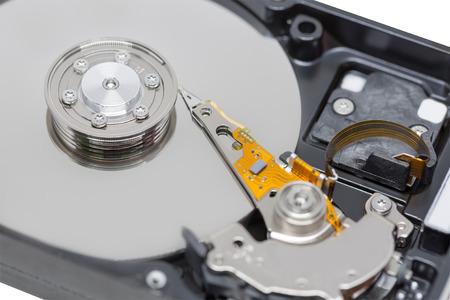 hard component: Close up Harddrive HDD soft focus
