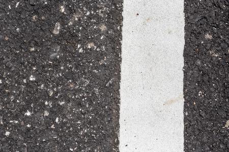 road texture: Asphalt road texture with white line Archivio Fotografico