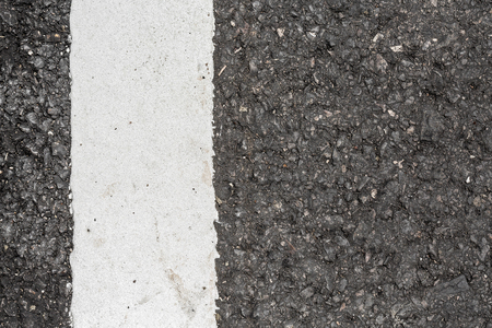 road texture: Asphalt road texture with white line Stock Photo