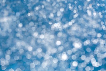 de focused: De focused background blue color water