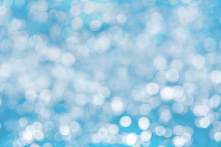 de focused: De focused bokeh blue background Stock Photo