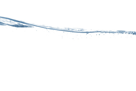ripple effect: Cool water wave Stock Photo