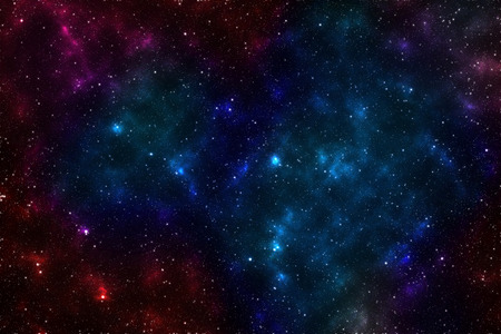 nebulosity: Colorful nebula and galaxy in cosmos Elements of this image furnished by NASA
