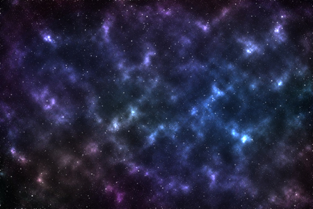 Galaxy nebula with star in universe for background Stock Photo