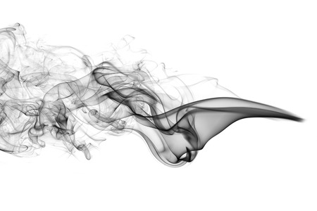 Abstract smoke white background