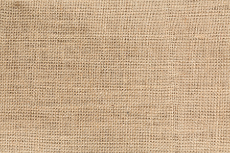 Natural sack texture brown canvas fabric design