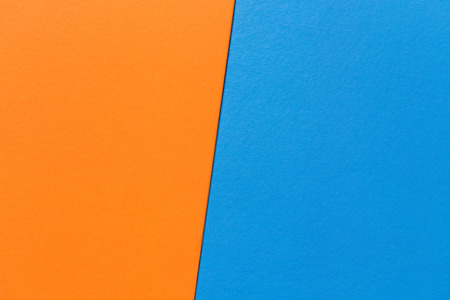 leatherette: Sort of orange and blue leatherette paper file texture, moden design colorful project Stock Photo