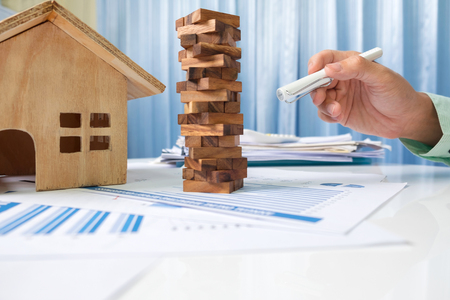 Investment real estate and property concept.
