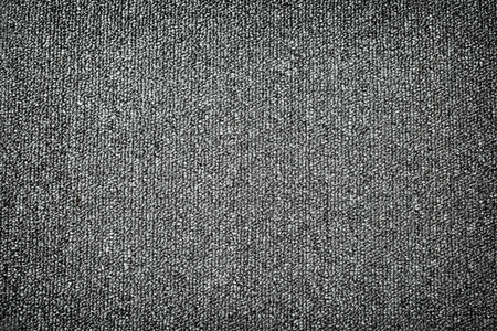 Grey Carpet Texture Fabric Background Pattern Dark Color Material Design Stock Photo