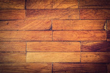 Wood floor texture vintage hardwood grunge pattern.