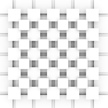 Modern light background with squares in gray color