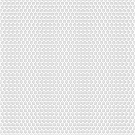 Light texture present hexagons on white background Stock Photo