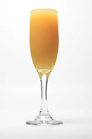 alcohol screwdriver: Champagne Screwdriver