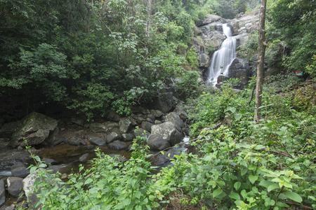 kerala: A waterfall in Kerala