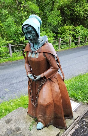 Alice Nutter was one of the group of people tried for murder after being accused of using witchcraft 400 years ago.