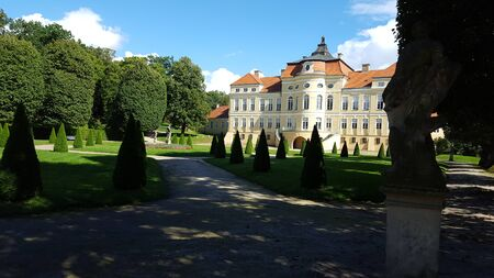 Palace in Rogalin residence was built in the second half of the eighteenth century. Editorial