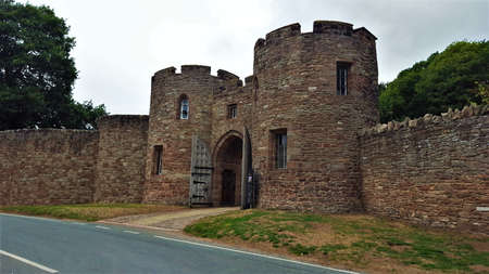 Beeston castle ruins, cheshire England.