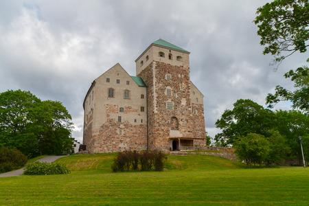 turku: Photo of Turku castle taken from gardens