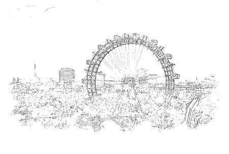 Viennese ferris wheel
